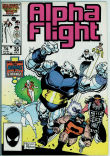 Alpha Flight 36 (VG+ 4.5)