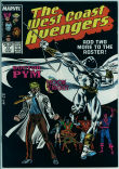 West Coast Avengers (2nd series) 21 (VF- 7.5)
