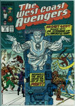West Coast Avengers (2nd series) 22 (VF- 7.5)
