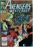 Avengers West Coast (2nd series) 53 (FN/VF 7.0)