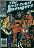 West Coast Avengers (2nd series) 9 (VG/FN 5.0)